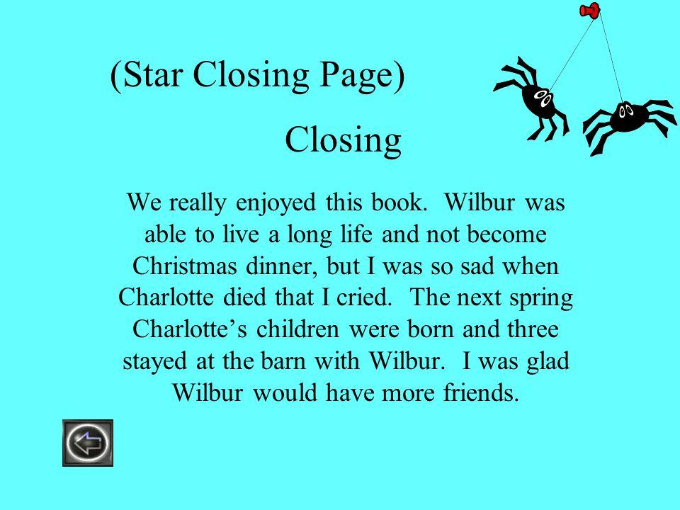 (Star Closing Page) Closing