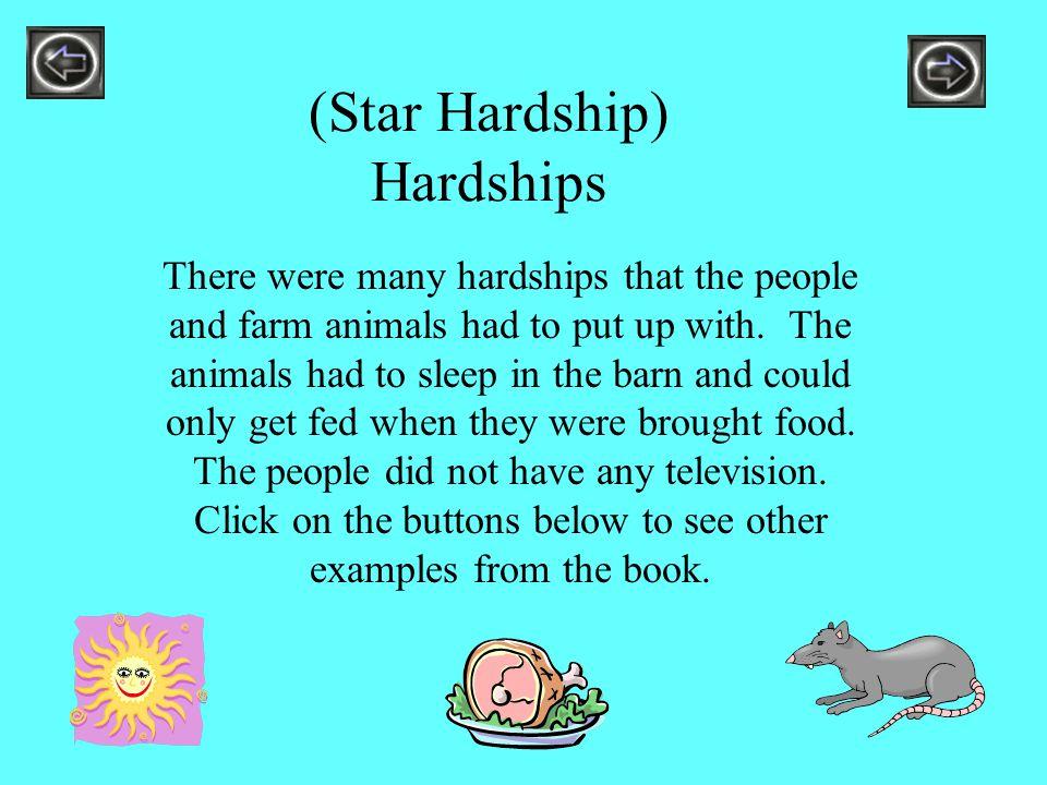 (Star Hardship) Hardships