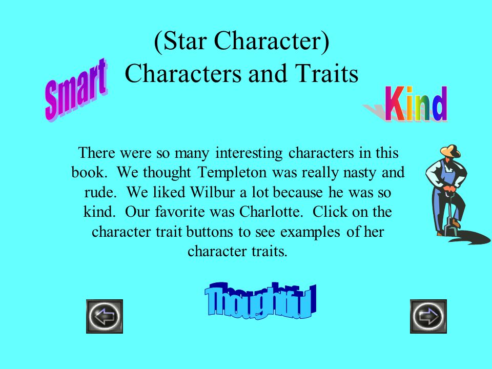 (Star Character) Characters and Traits