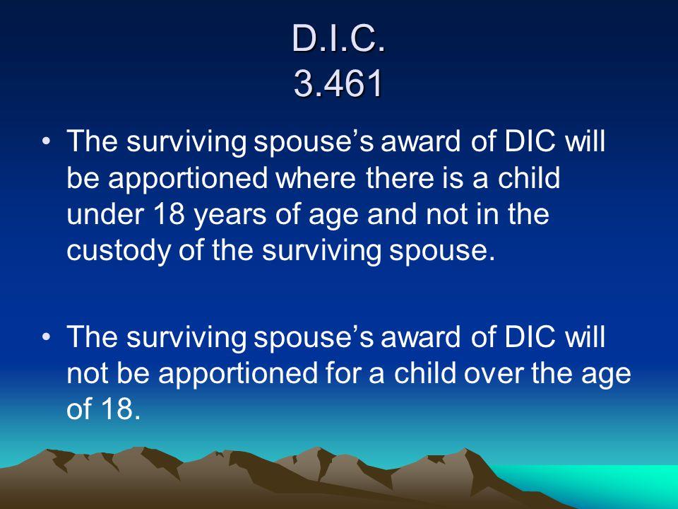D.I.C. 3.461