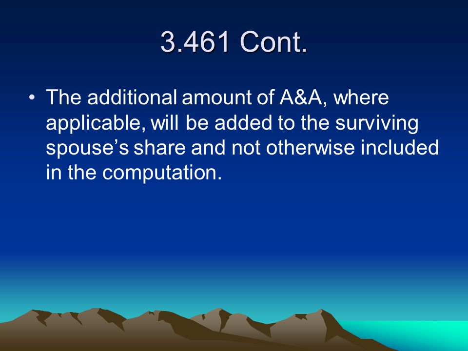 3.461 Cont.