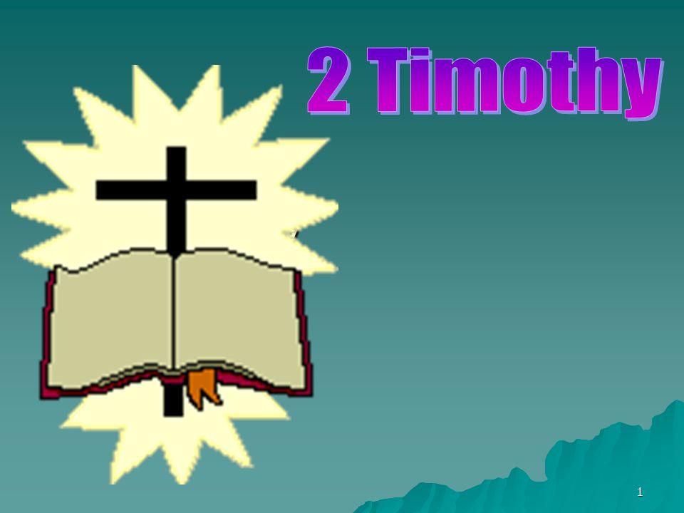 2 Timothy 2 Timothy