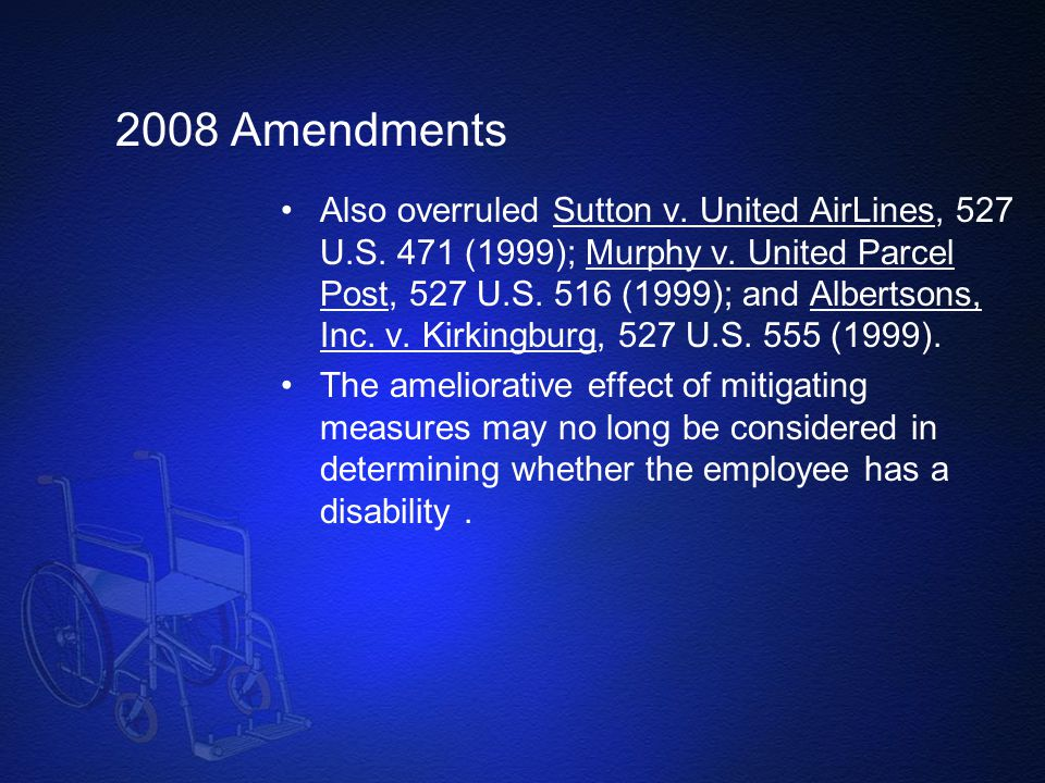 2008 Amendments
