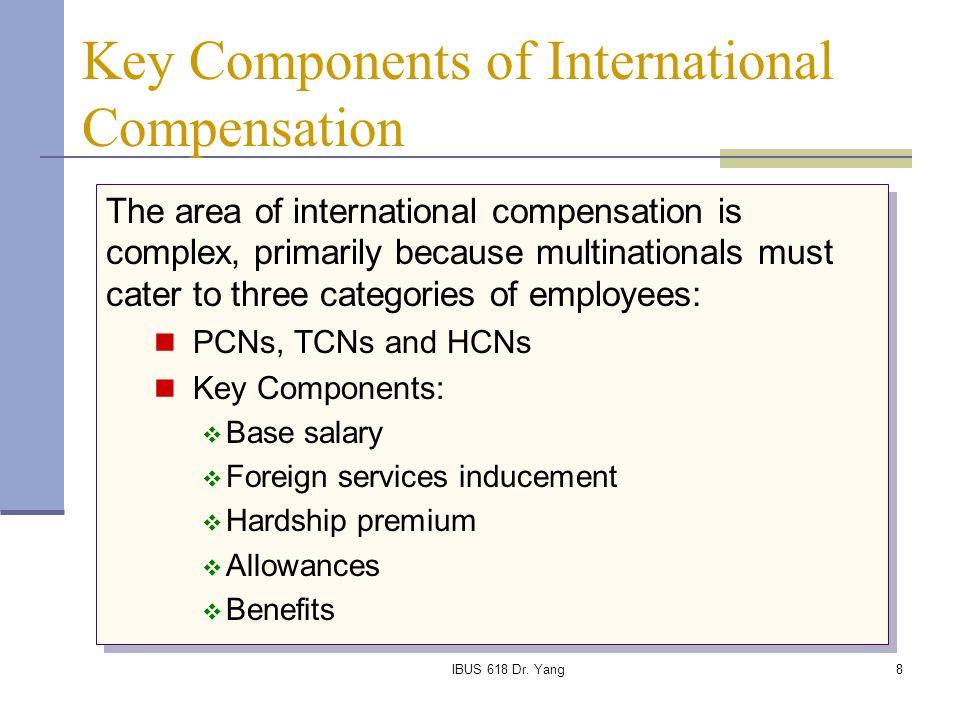 Key Components of International Compensation