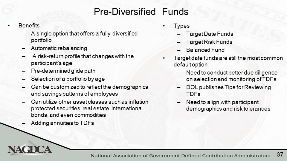 Reviewing TDFs: Several Important Considerations