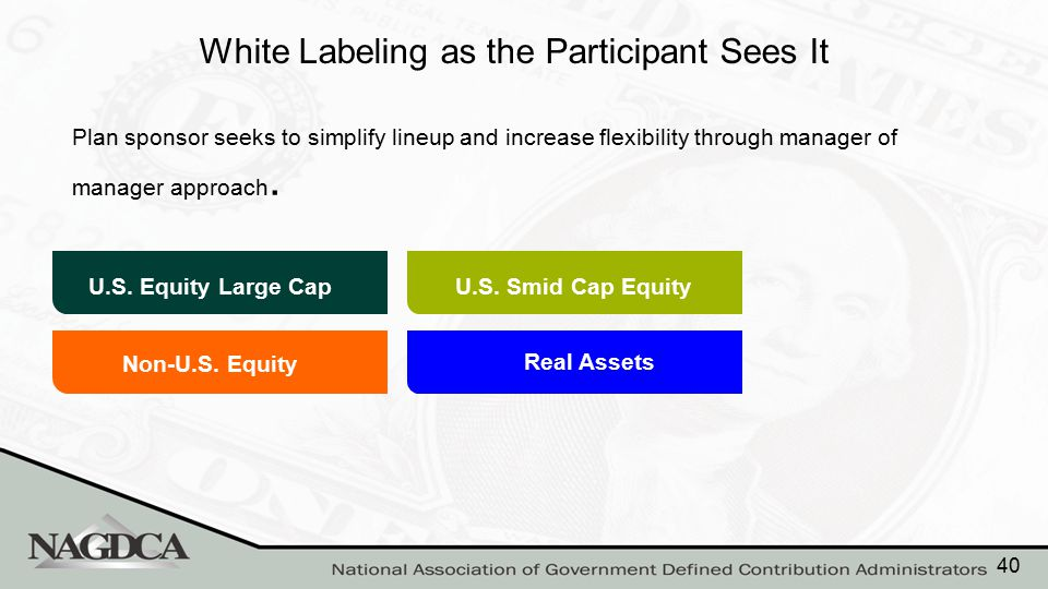 White Labeling as the Plan Sponsor Sees It