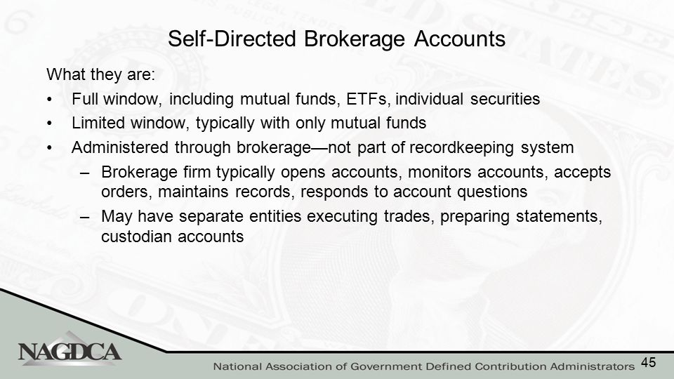 Pros and Cons of Self-Directed Brokerage Accounts