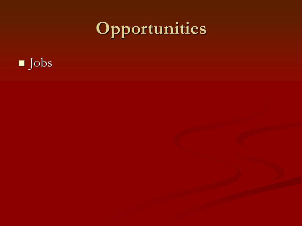 Opportunities Jobs