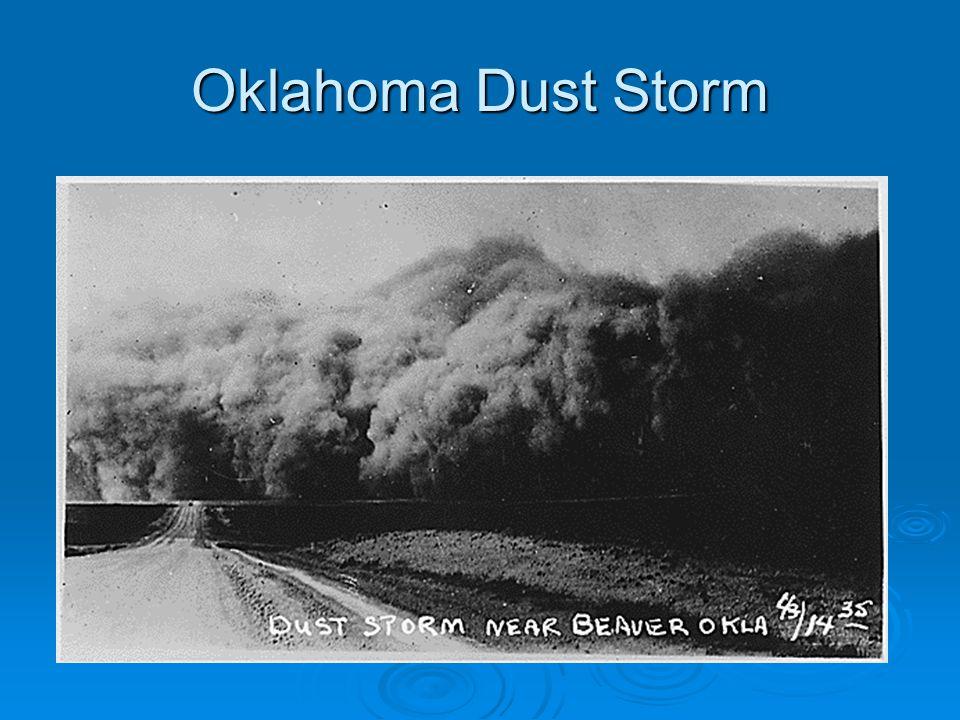 Oklahoma Dust Storm