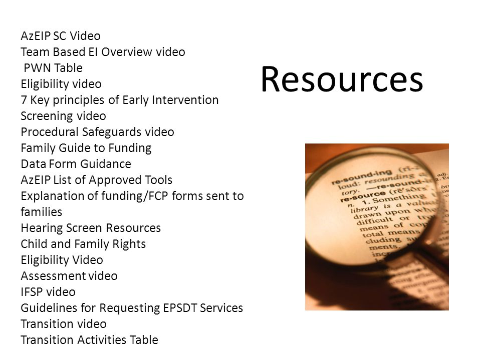 Resources AzEIP SC Video Team Based EI Overview video PWN Table