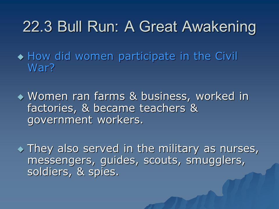 22.3 Bull Run: A Great Awakening