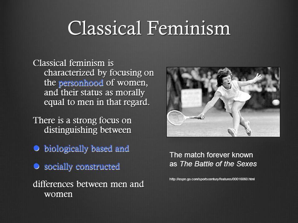 Classical Feminism
