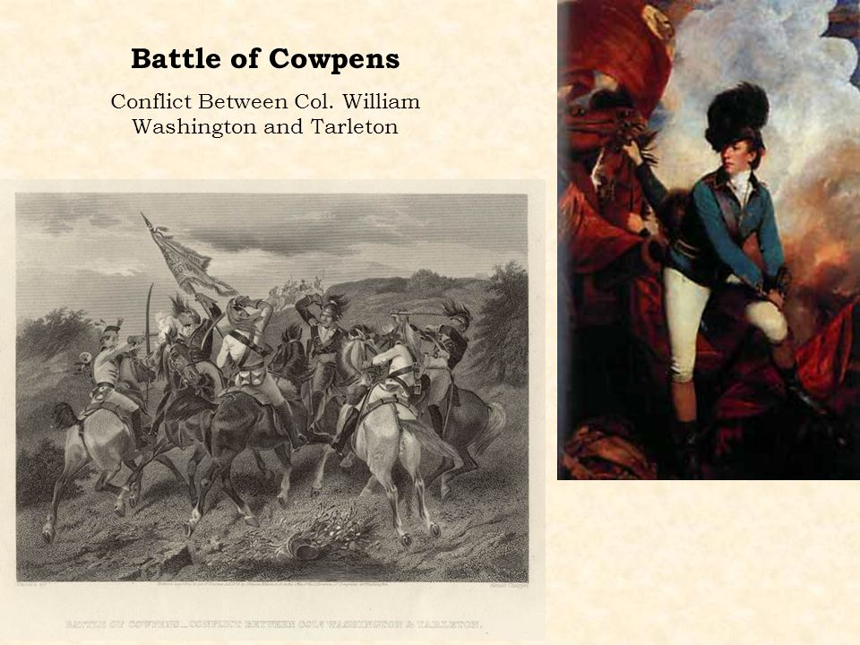 Conflict Between Col. William Washington and Tarleton