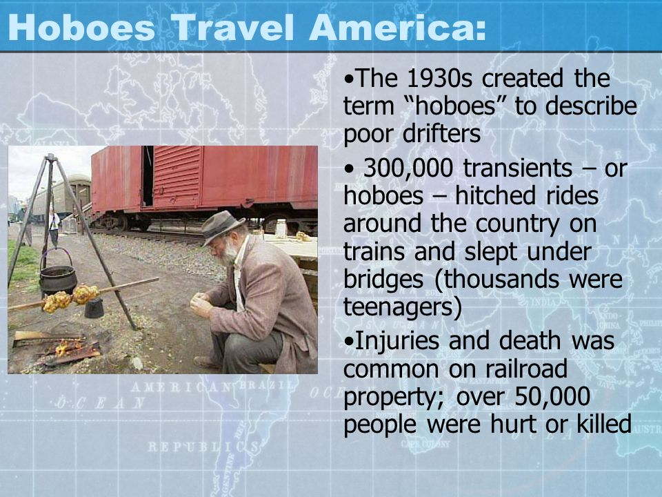 Hoboes Travel America:
