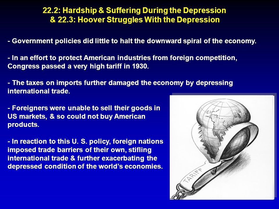 22.2: Hardship & Suffering During the Depression