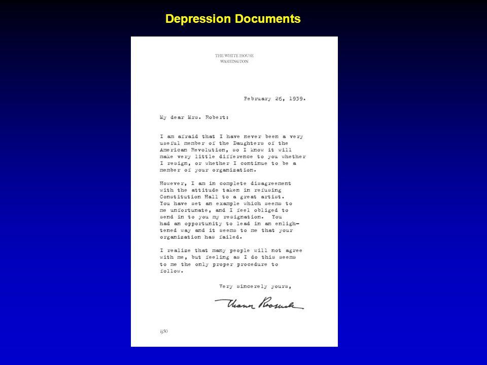 Depression Documents