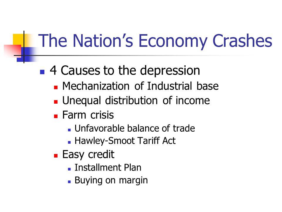 The Nation's Economy Crashes