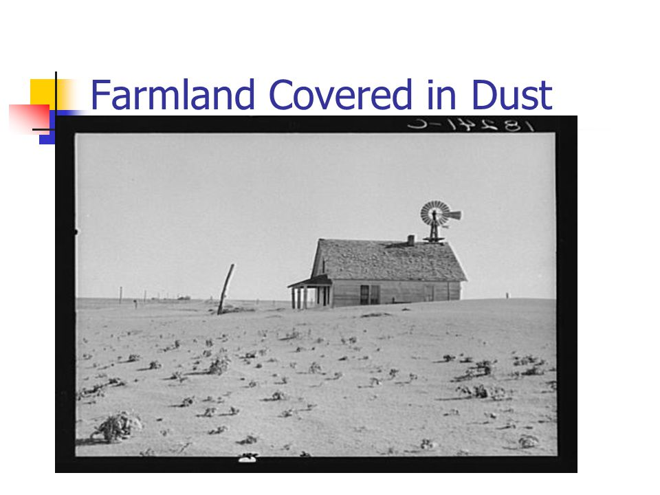 Farmland Covered in Dust