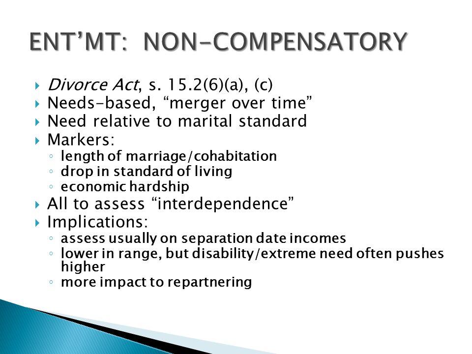 ENT'MT: NON-COMPENSATORY