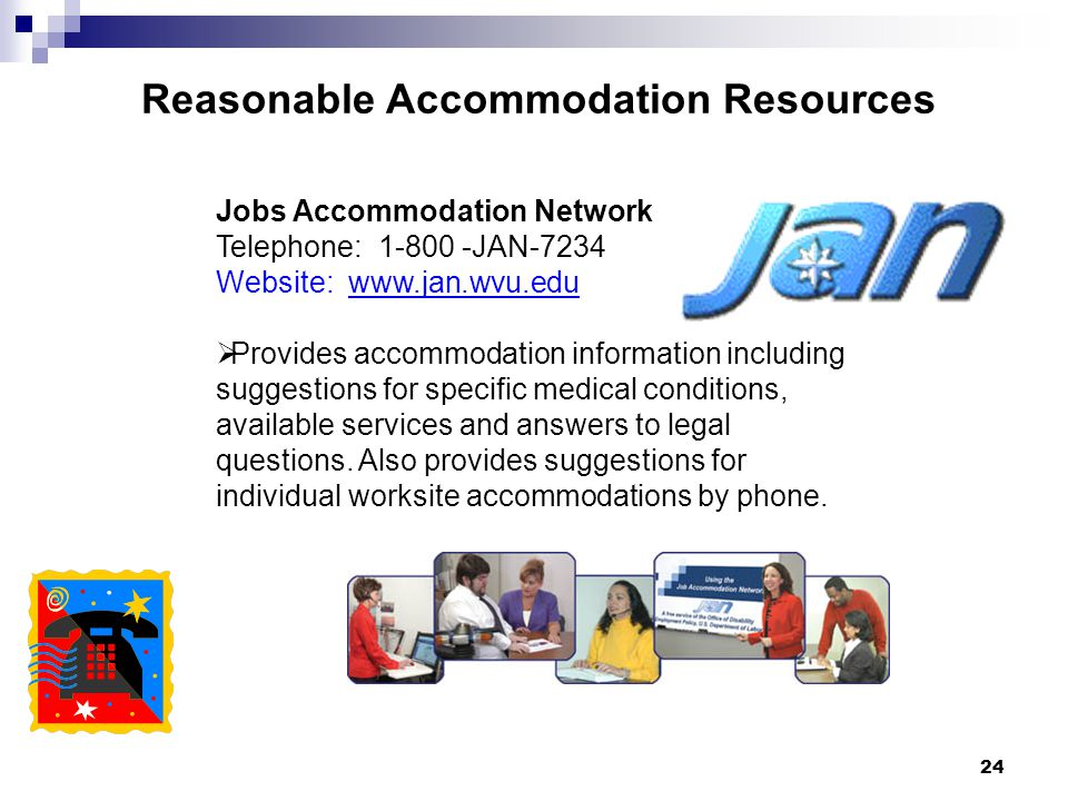 Reasonable Accommodation Resources