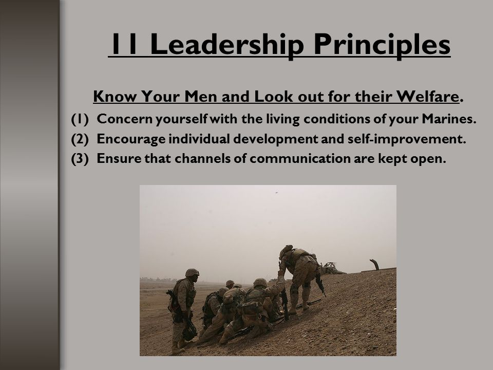 11 Leadership Principles