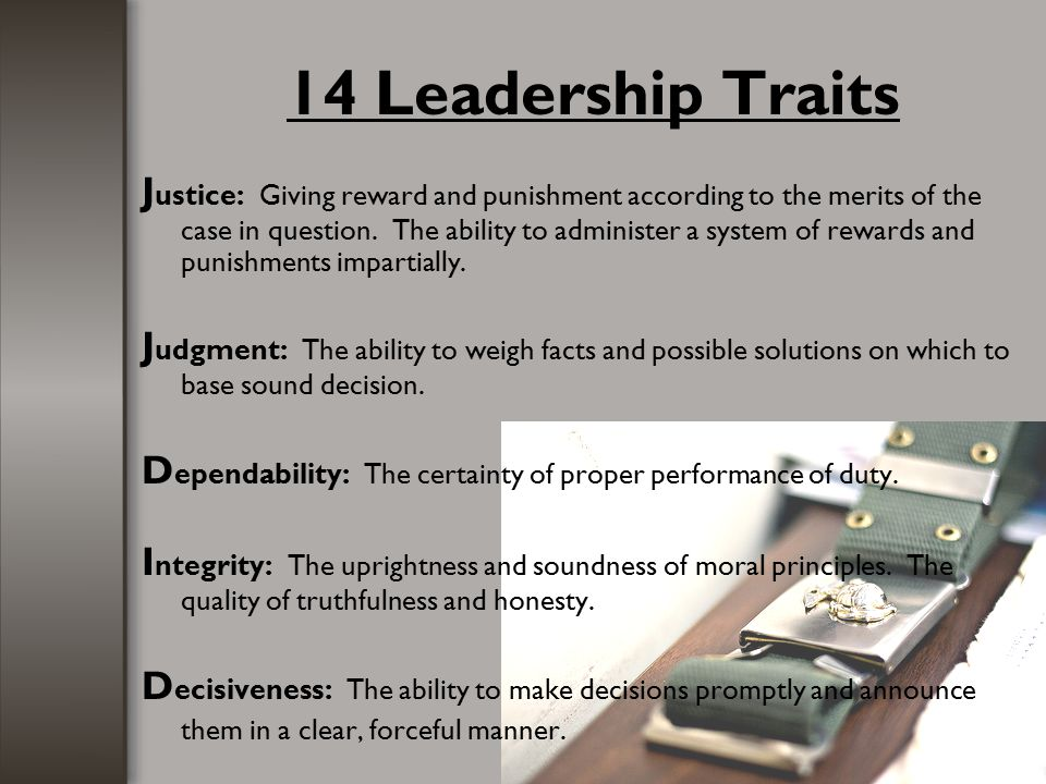 14 Leadership Traits
