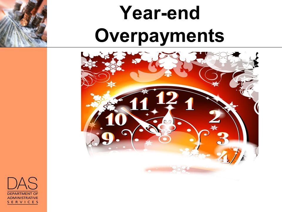Year-end Overpayments