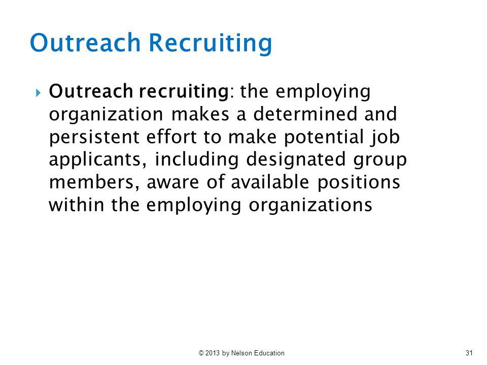 Outreach Recruiting