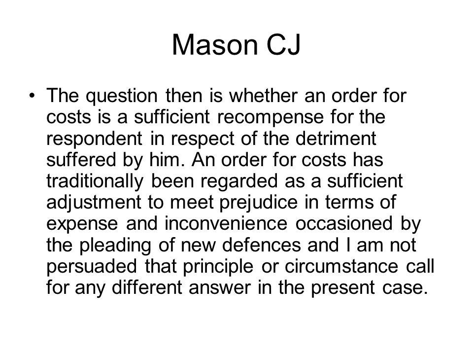 Mason CJ