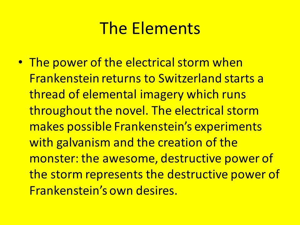 frankenstein theme the destructive power of revenge