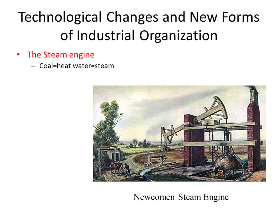 forms of industrial organization The industrial revolution is the  of industries in the most industrialized nations of the world had adopted advanced production methods and organization much of.