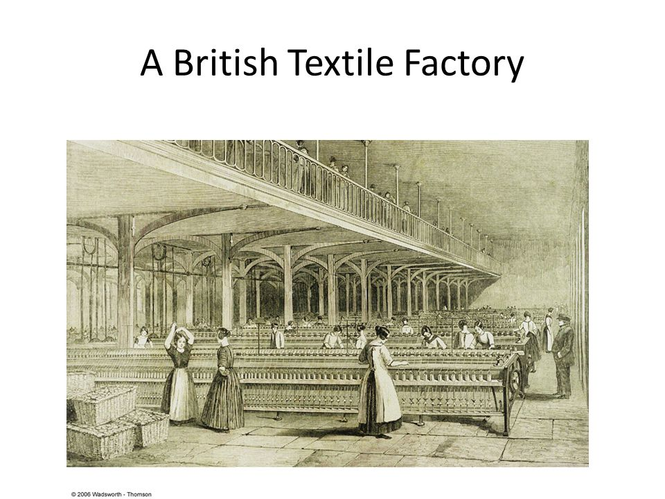 A British Textile Factory