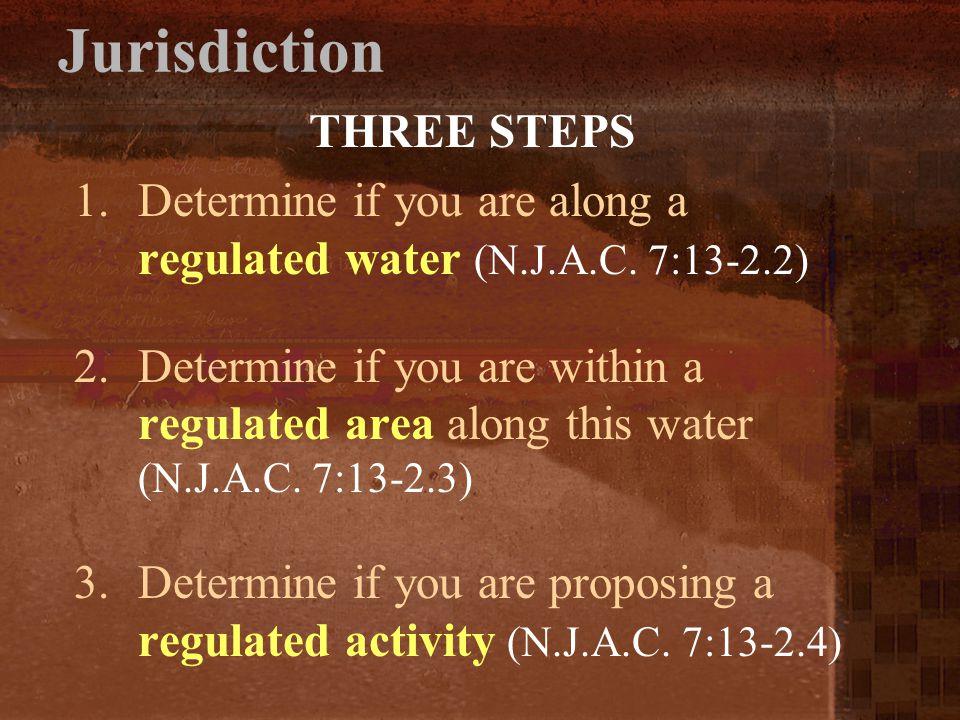 Jurisdiction THREE STEPS