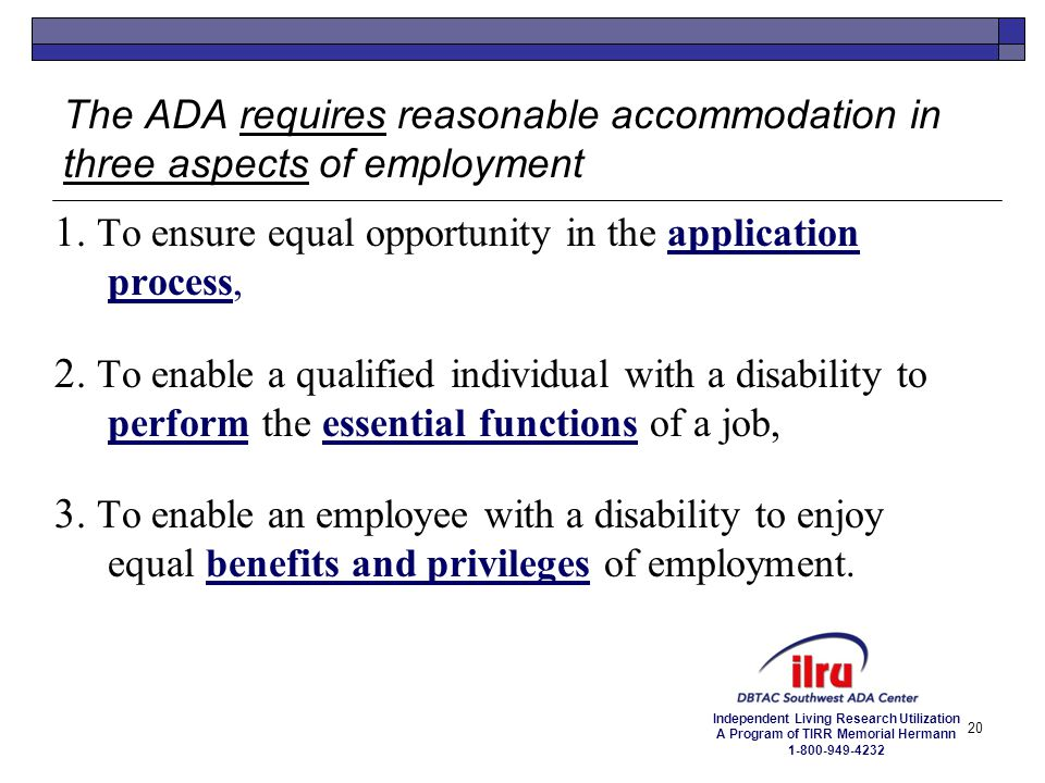 1. To ensure equal opportunity in the application process,