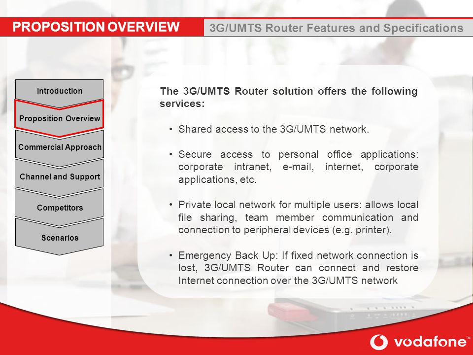 3G/UMTS Router Features and Specifications
