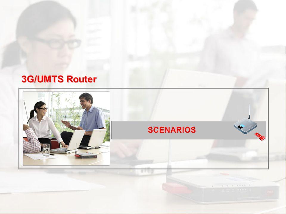 3G/UMTS Router SCENARIOS