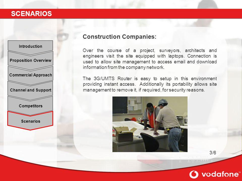 SCENARIOS Construction Companies: