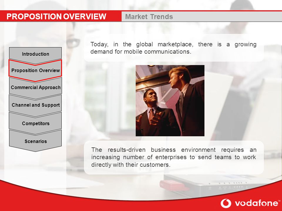PROPOSITION OVERVIEW Market Trends