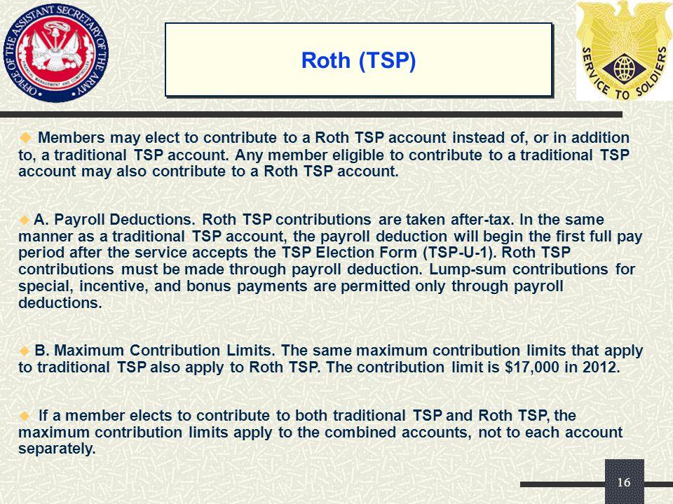 Roth (TSP)