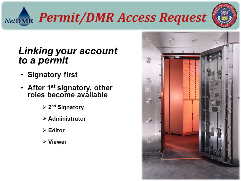 Permit/DMR Access Request