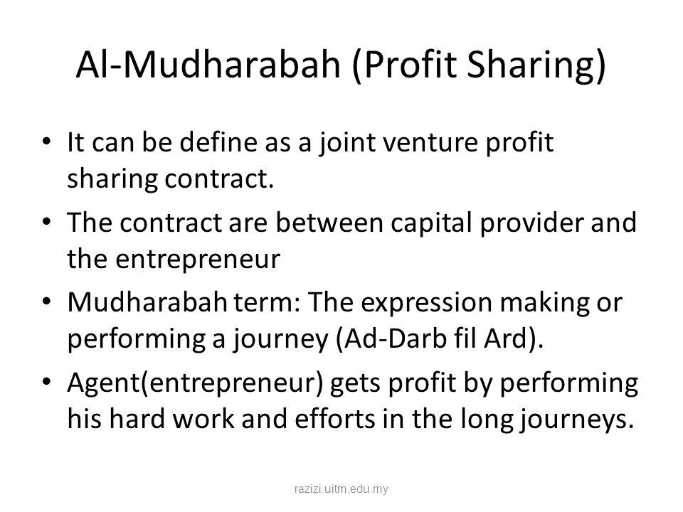 Al-Mudharabah (Profit Sharing)