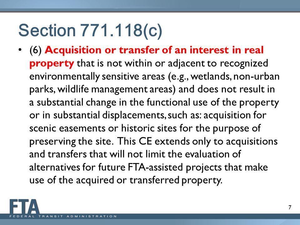 Section 771.118(c)