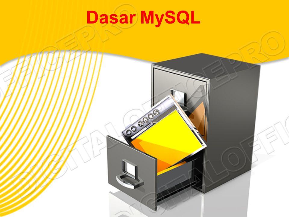 Dasar MySQL