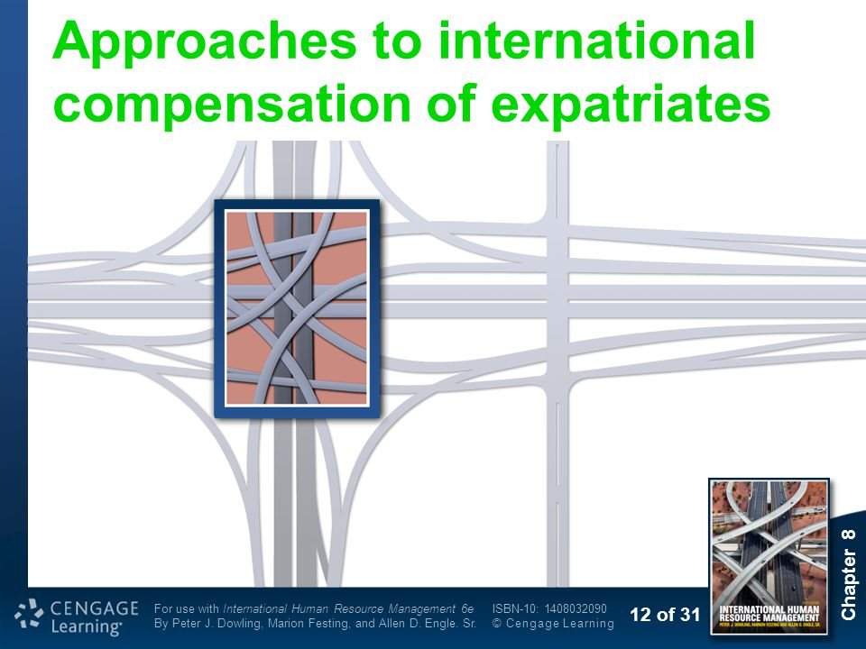 Approaches to international compensation of expatriates