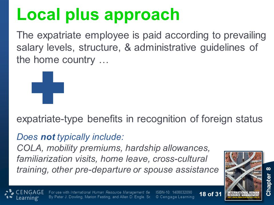 Local plus approach