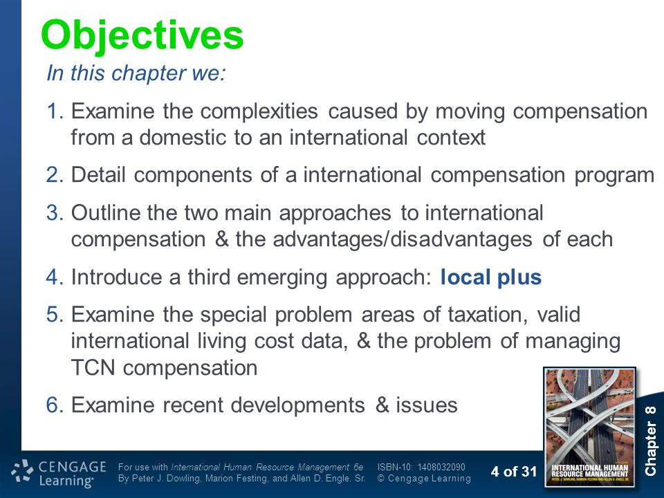 Objectives In this chapter we: