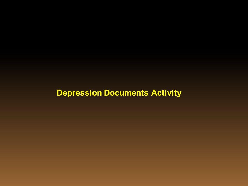 Depression Documents Activity