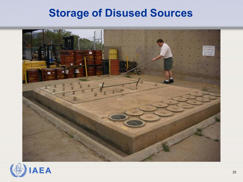 Storage of Disused Sources