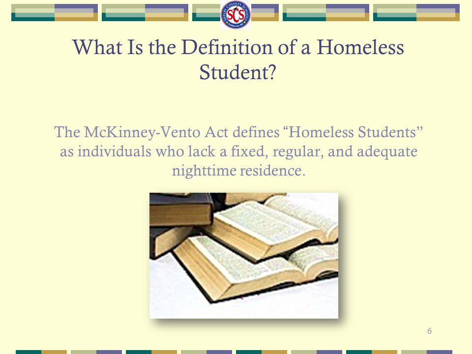 What Is the Definition of a Homeless Student