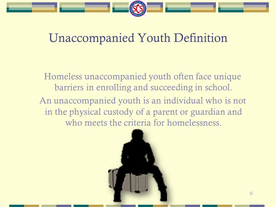 Unaccompanied Youth Definition